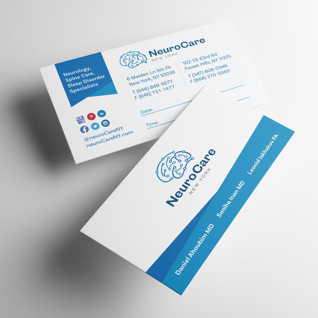 Beri Group Portfolio Neurocareny Business Cards